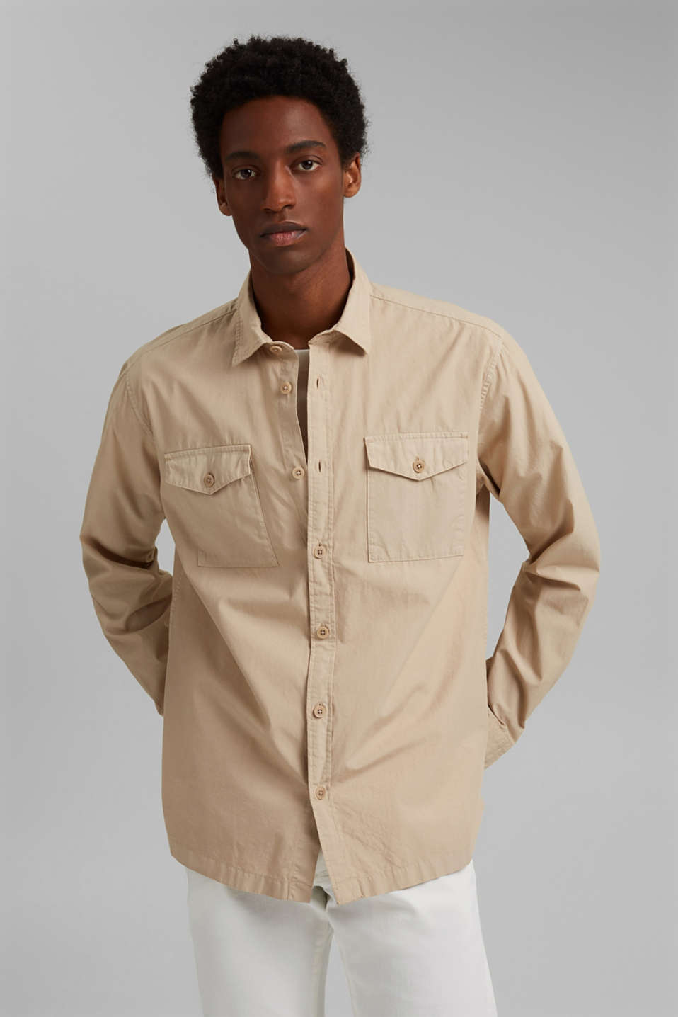 Esprit - #ReimagineNaturalLifestyle: Cotton shirt
