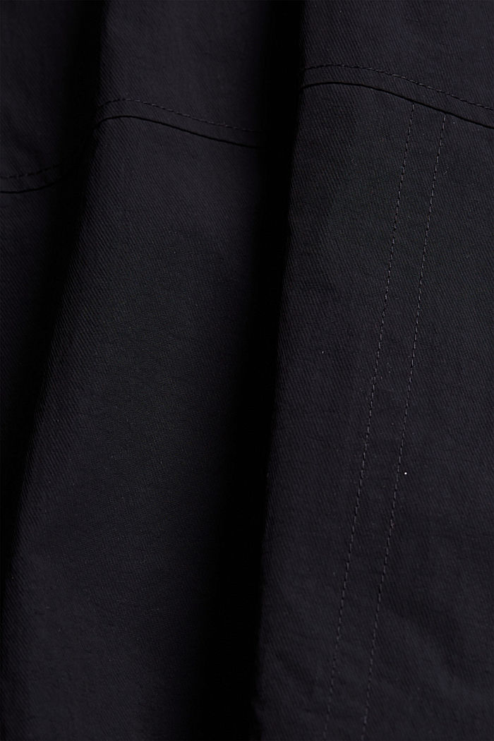 Recycled: outdoor waistcoat in a utility style, BLACK, detail image number 5