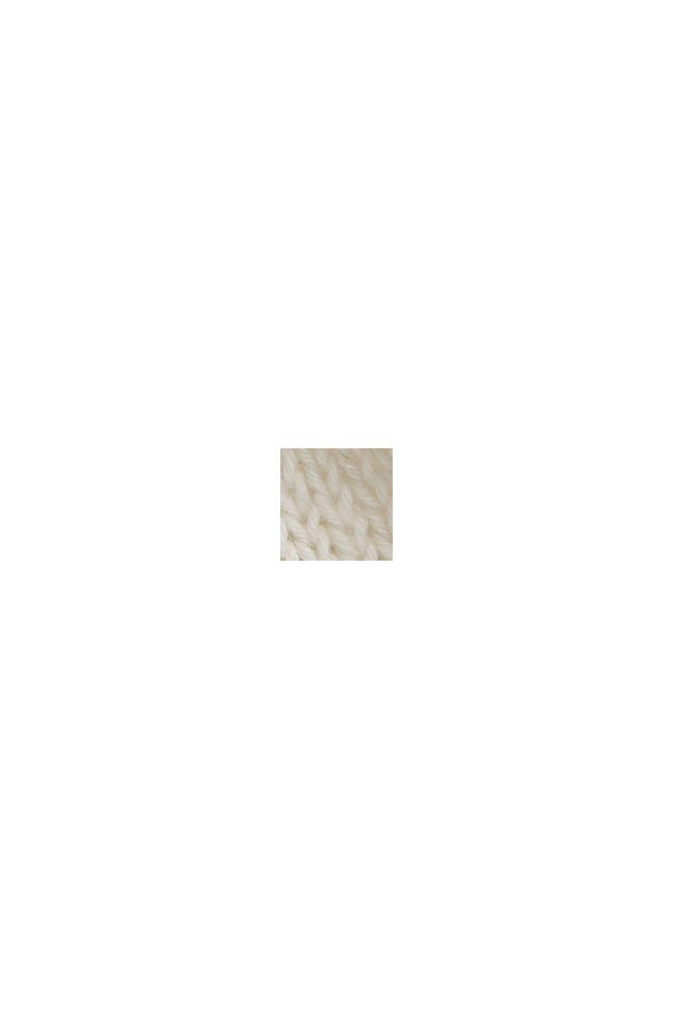 #ReimagineNaturalLifestyle: trui van een linnenmix, OFF WHITE, swatch