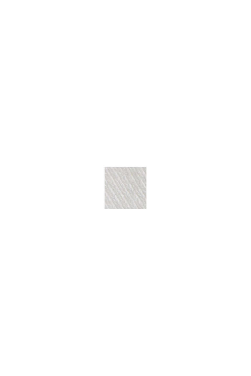 #ReimagineNaturalLifestyle: sweatshirt met linnen, OFF WHITE, swatch