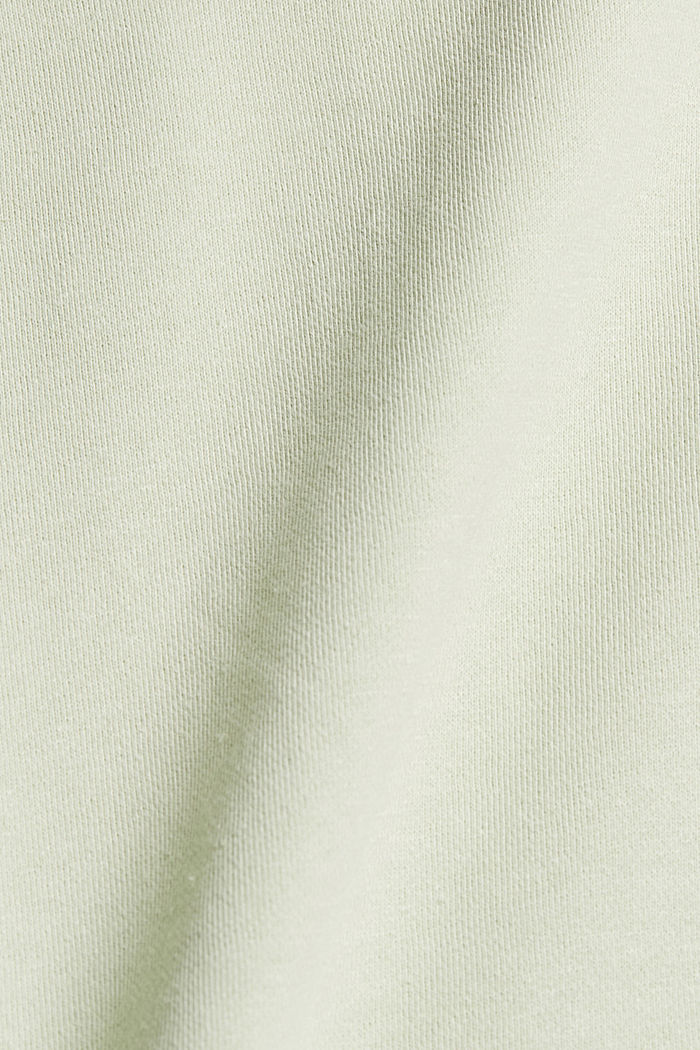 #ReimagineNaturalLifestyle: Sudadera con lino, PASTEL GREEN, detail image number 4
