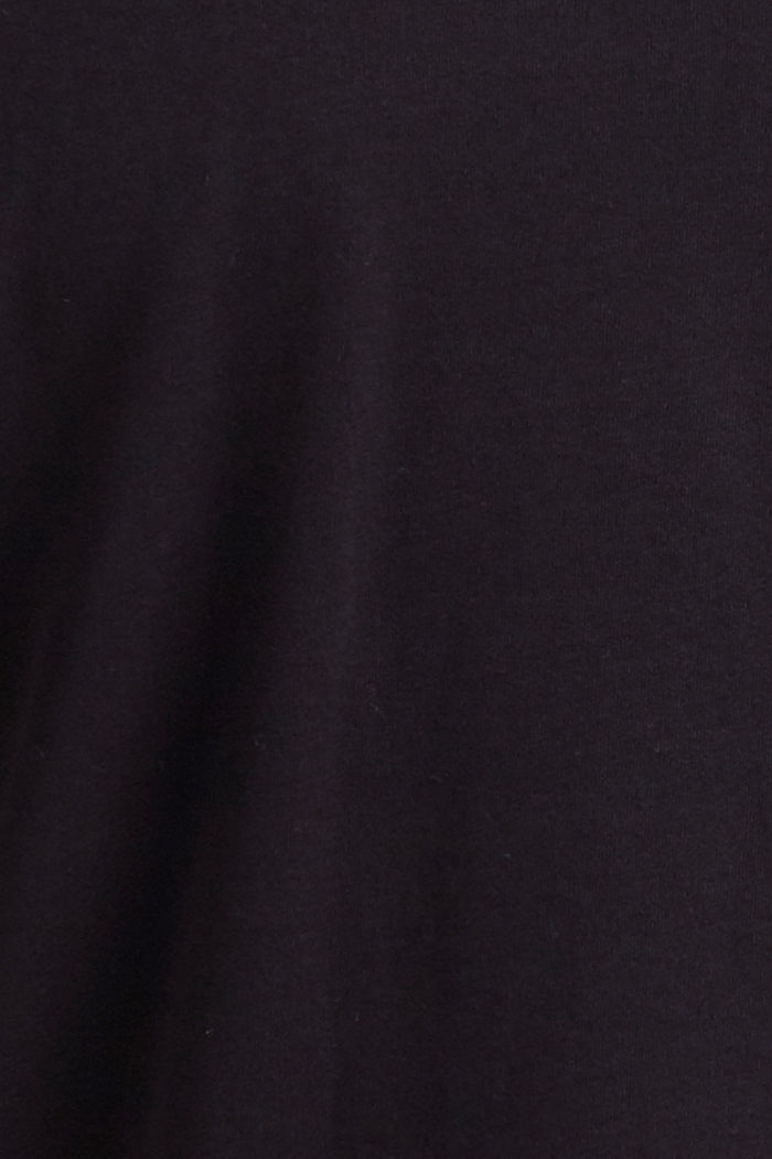 T-shirt made of 100% organic cotton, BLACK, detail image number 4