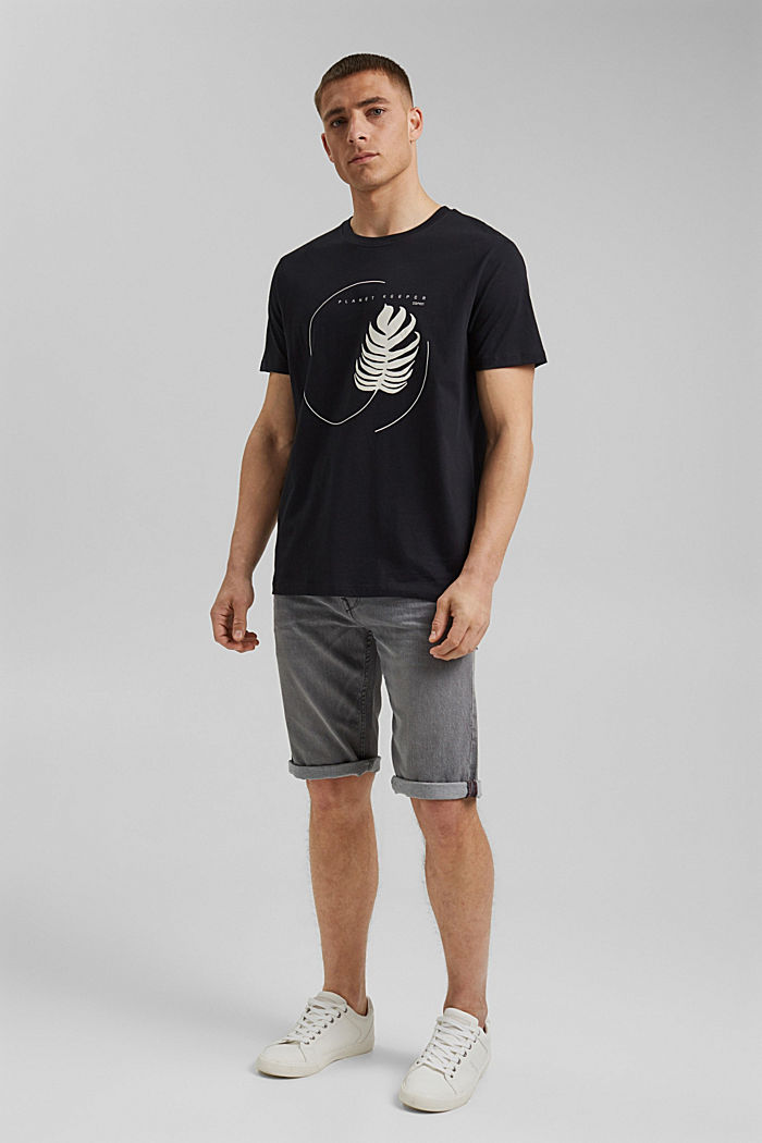 #ReimagineNaturalLifestyle: Print-Shirt, BLACK, detail image number 2