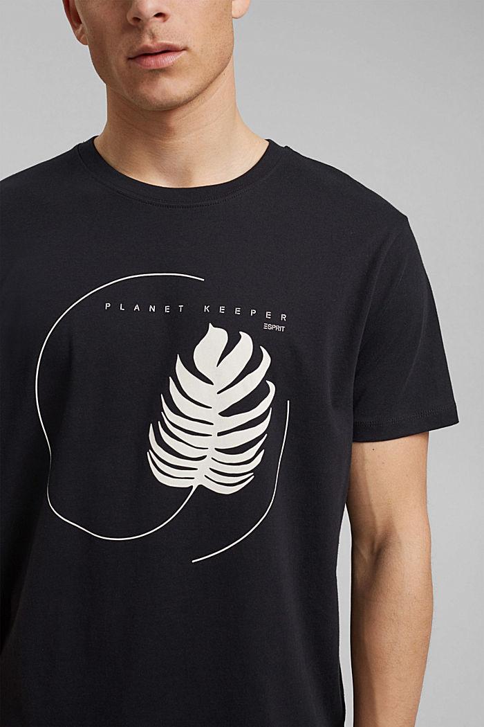 #ReimagineNaturalLifestyle: Print-Shirt, BLACK, detail image number 1