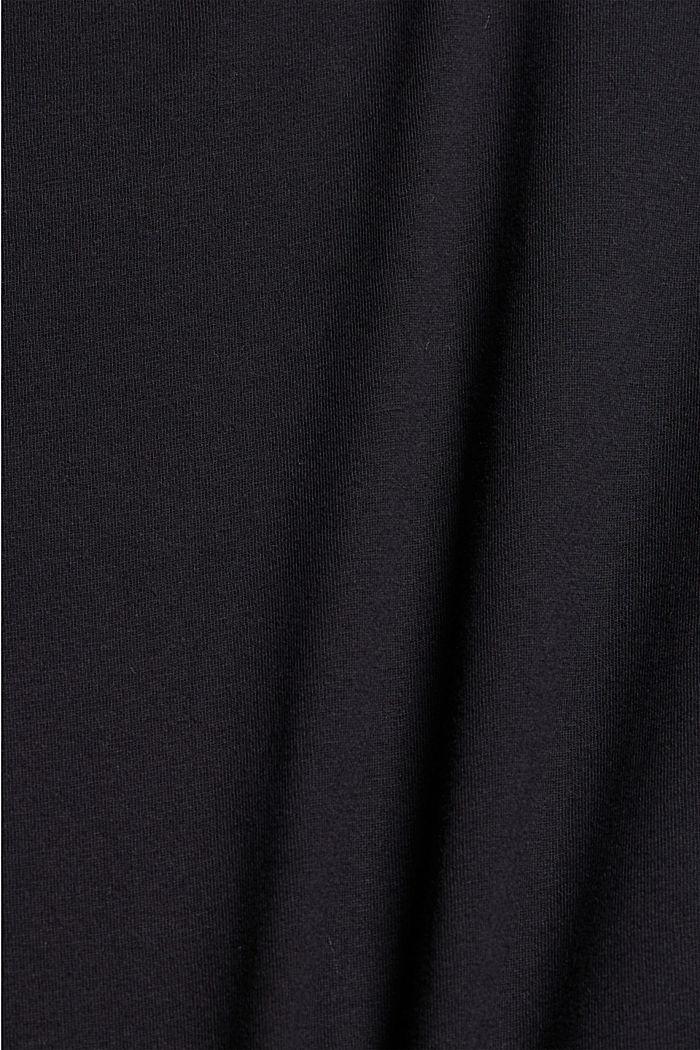 #ReimagineNaturalLifestyle: Print-Shirt, BLACK, detail image number 4