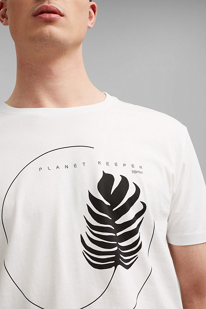 #ReimagineNaturalLifestyle: shirt met print, OFF WHITE, detail image number 1