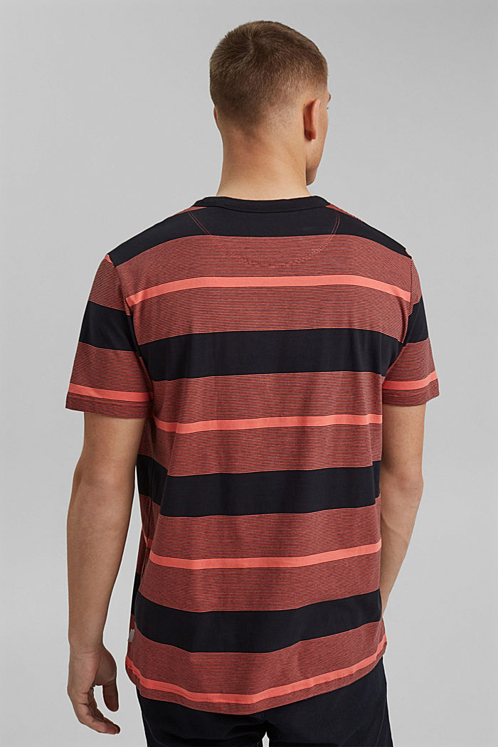Tričko z žerzeje ze 100% bio bavlny, CORAL RED, detail image number 3