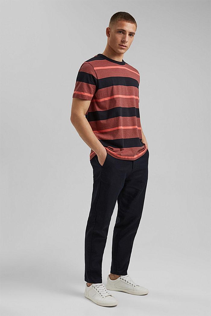 Tričko z žerzeje ze 100% bio bavlny, CORAL RED, detail image number 6