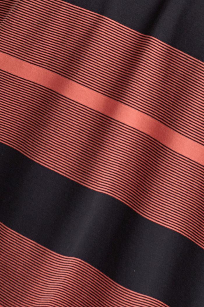 Tričko z žerzeje ze 100% bio bavlny, CORAL RED, detail image number 4