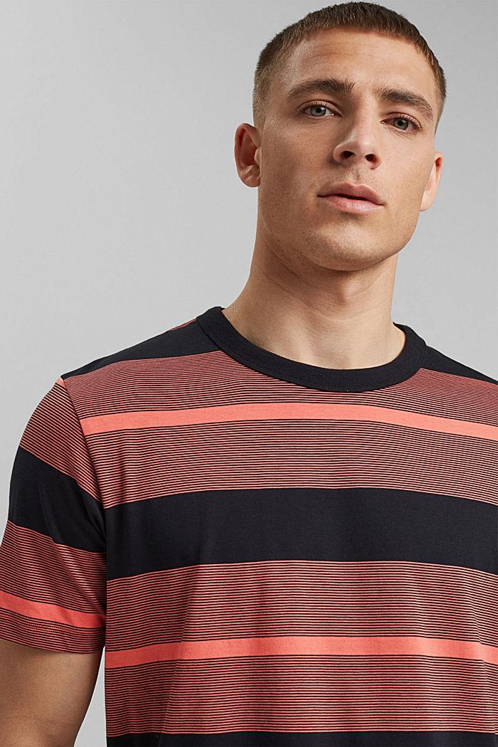 Tričko z žerzeje ze 100% bio bavlny, CORAL RED, detail image number 5