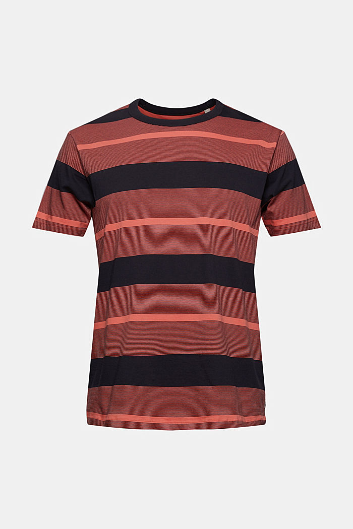 Tričko z žerzeje ze 100% bio bavlny, CORAL RED, detail image number 7