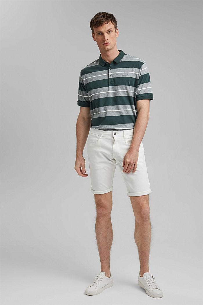 Organic cotton-jersey polo shirt