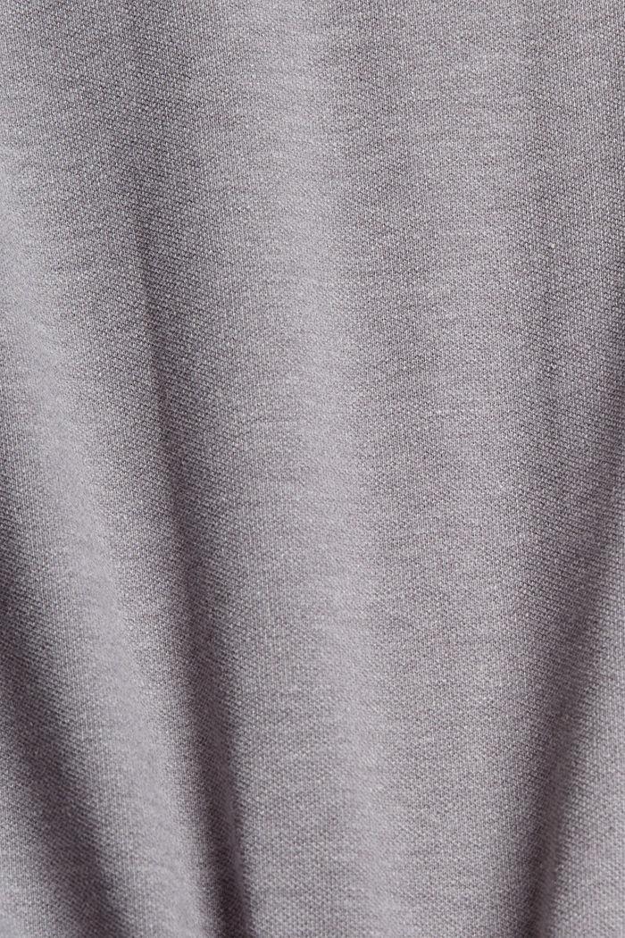 Piqué poloshirt met COOLMAX®, MEDIUM GREY, detail image number 4