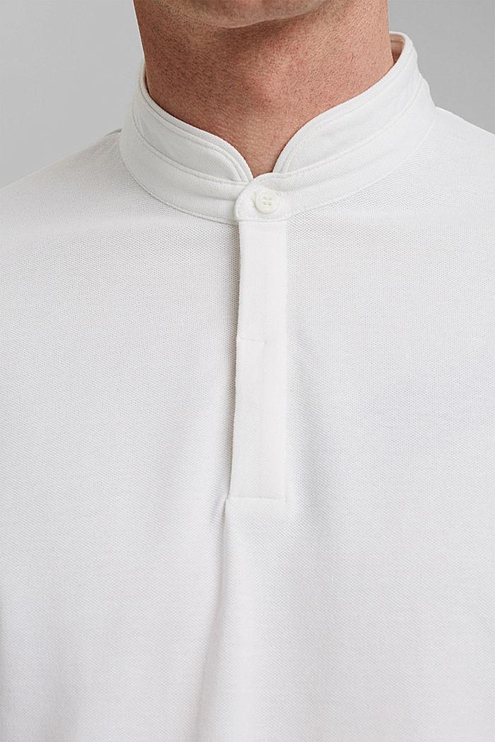 Polo en piqué à la technologie COOLMAX®, OFF WHITE, detail image number 1