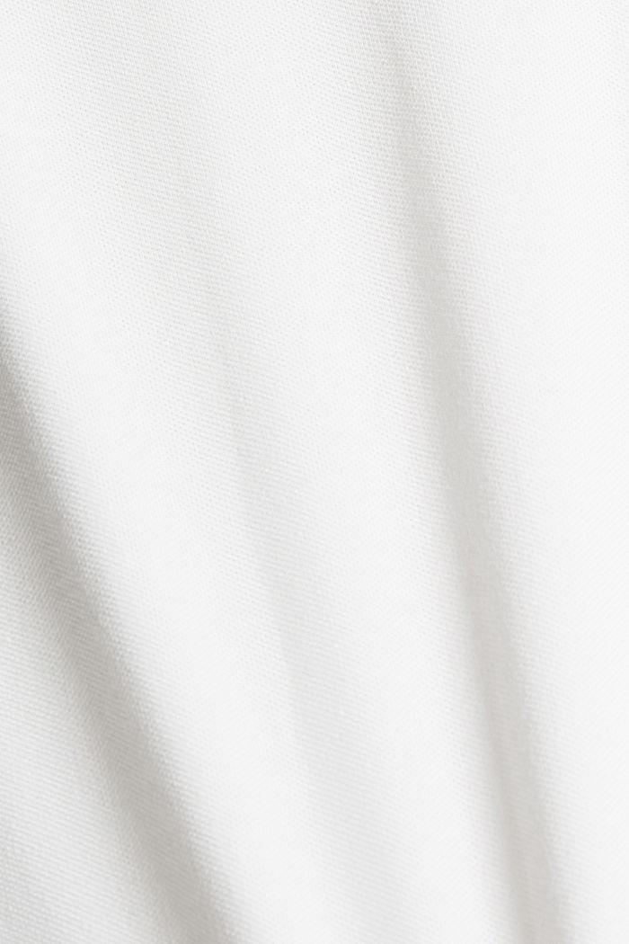 Polo de piqué con COOLMAX®, OFF WHITE, detail image number 1