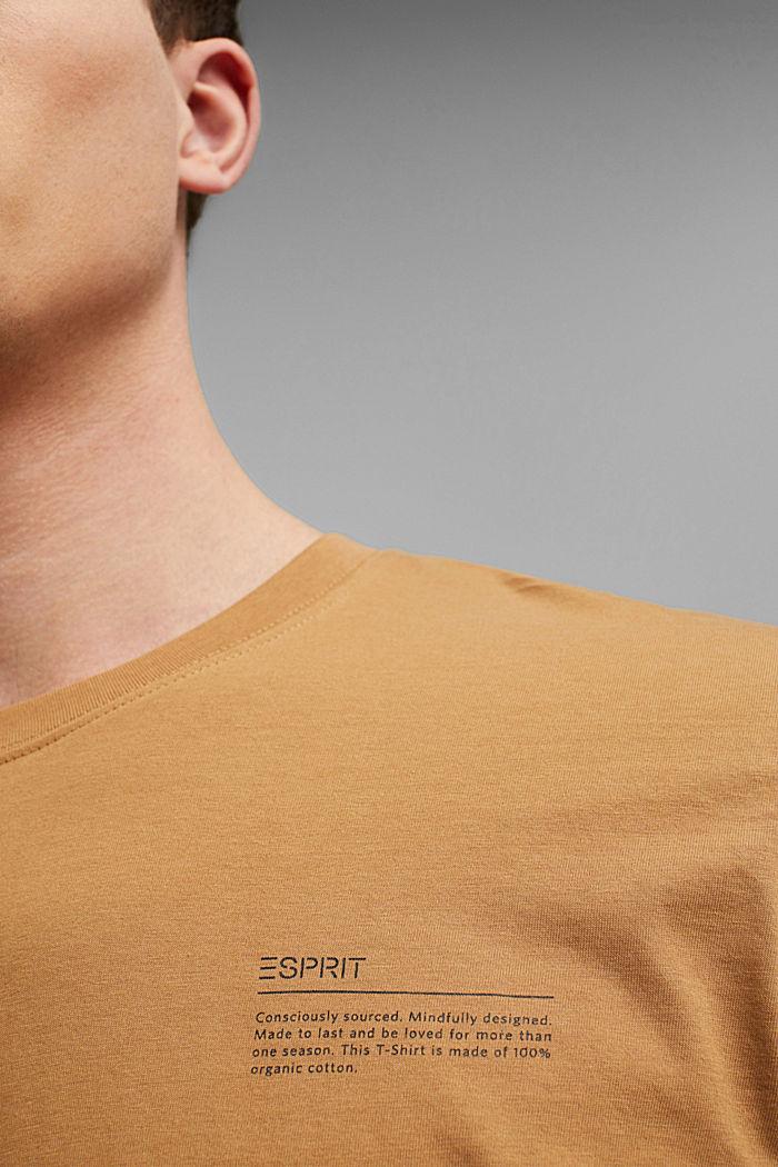 Painettu t-paita, 100 % luomupuuvillaa