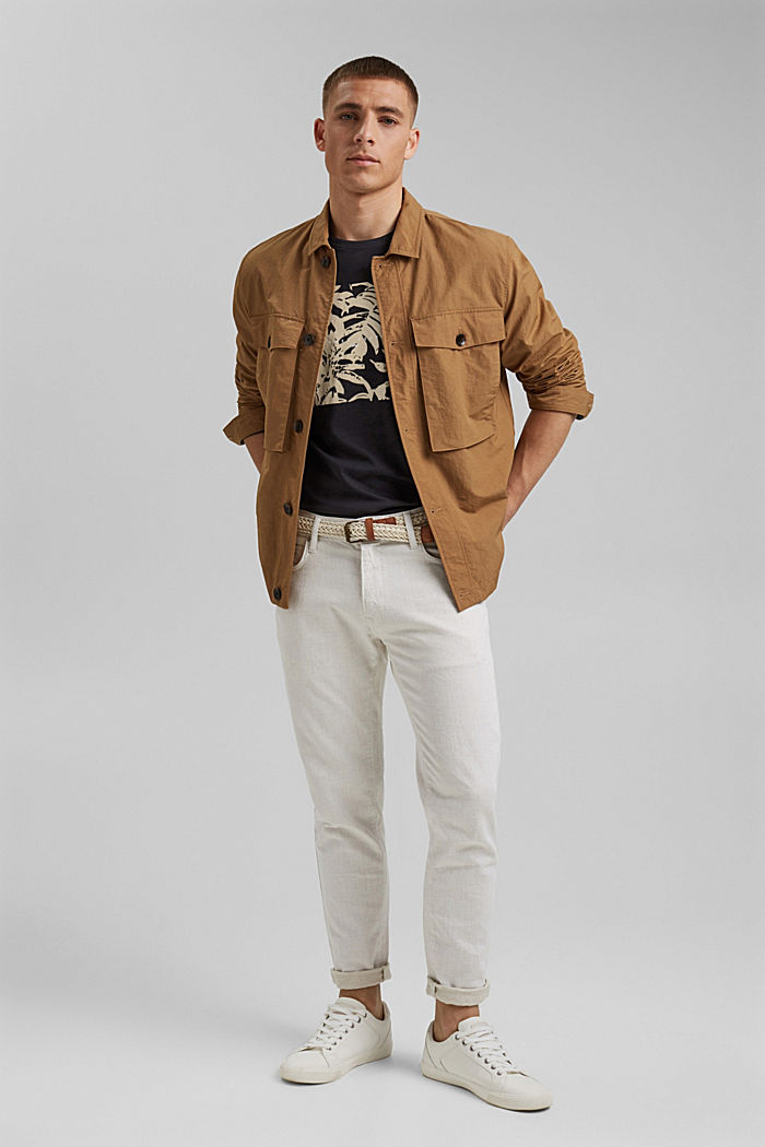#ReimagineNaturalLifestyle: Jersey-T-Shirt, BLACK, detail image number 2
