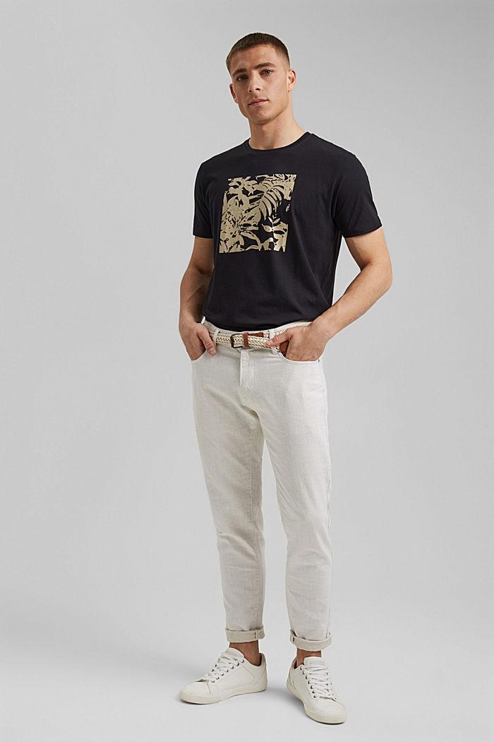 #ReimagineNaturalLifestyle: Jersey-T-Shirt, BLACK, detail image number 5