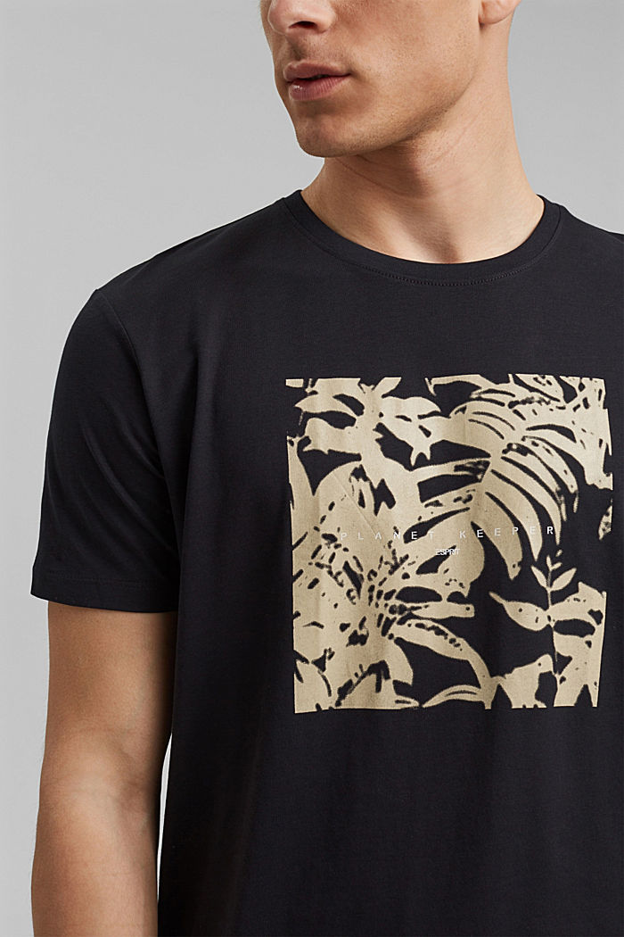 #ReimagineNaturalLifestyle: Jersey-T-Shirt, BLACK, detail image number 1