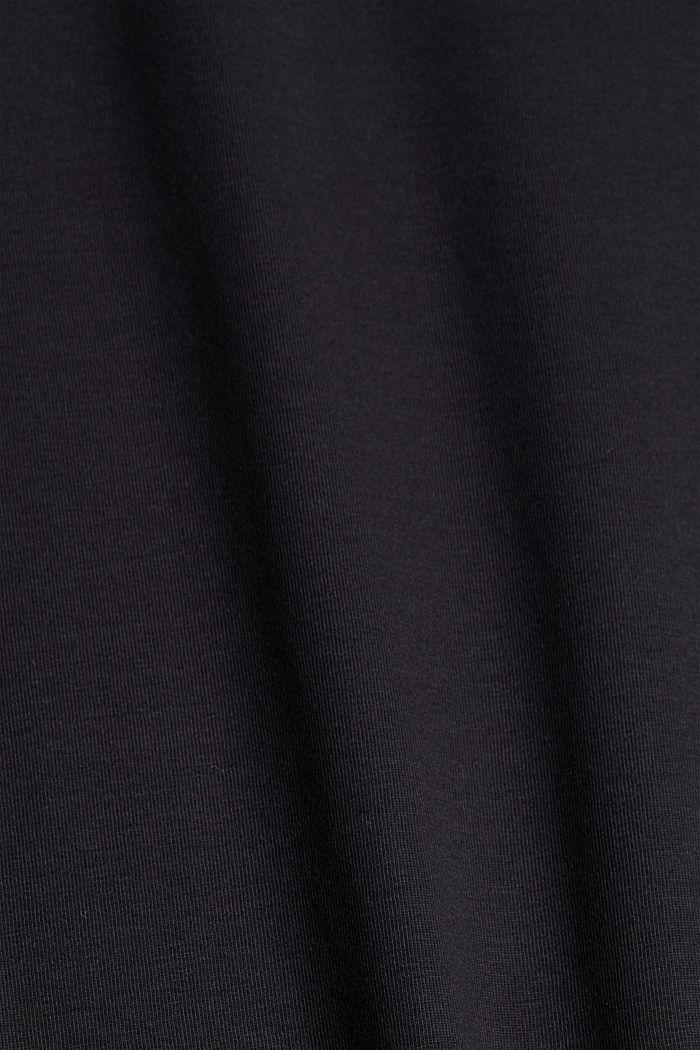 #ReimagineNaturalLifestyle: Jersey-T-Shirt, BLACK, detail image number 4