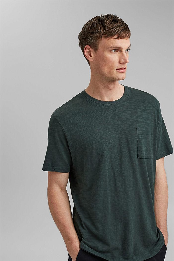 #ReimagineNaturalLifestyle: Jersey-T-Shirt, TEAL BLUE, detail image number 4