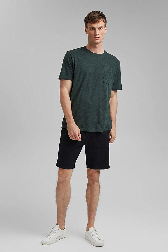 #ReimagineNaturalLifestyle: Jersey-T-Shirt, TEAL BLUE, detail image number 8