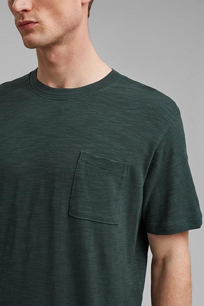 #ReimagineNaturalLifestyle: Jersey-T-Shirt, TEAL BLUE, detail image number 1