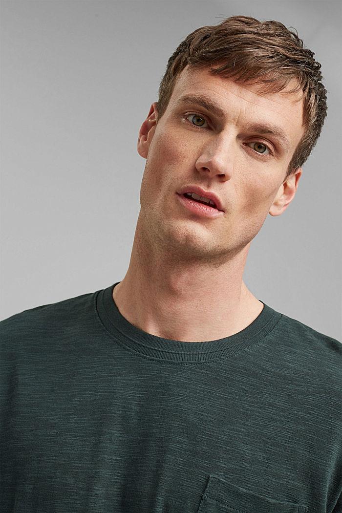 #ReimagineNaturalLifestyle: Jersey-T-Shirt, TEAL BLUE, detail image number 6