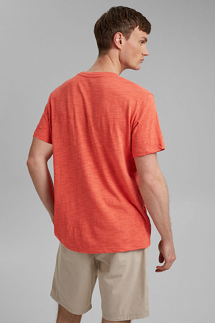 #ReimagineNaturalLifestyle: Jersey-T-Shirt, CORAL RED, detail image number 3