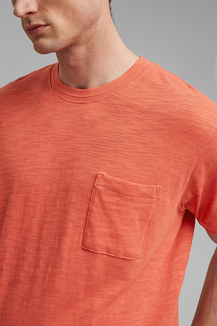 #ReimagineNaturalLifestyle: Jersey-T-Shirt, CORAL RED, detail image number 1