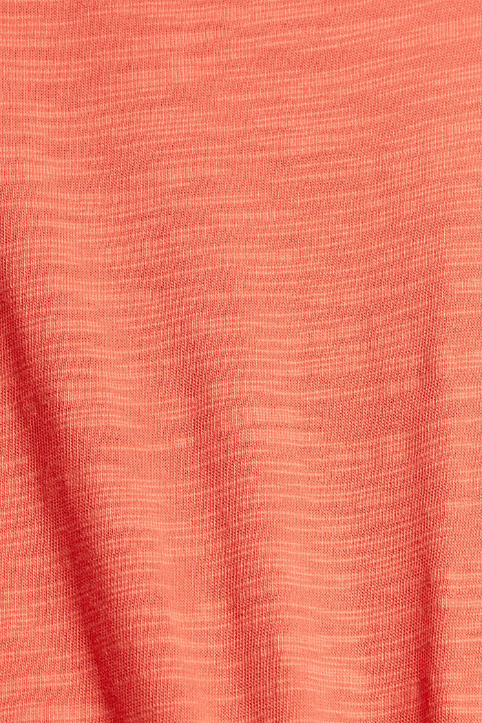 #ReimagineNaturalLifestyle: Jersey-T-Shirt, CORAL RED, detail image number 5