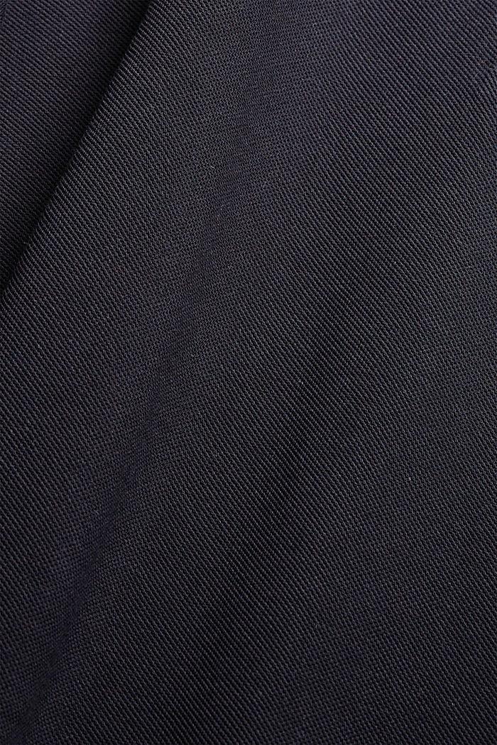 Polo en maille piquée, 100% coton bio, BLACK, detail image number 1
