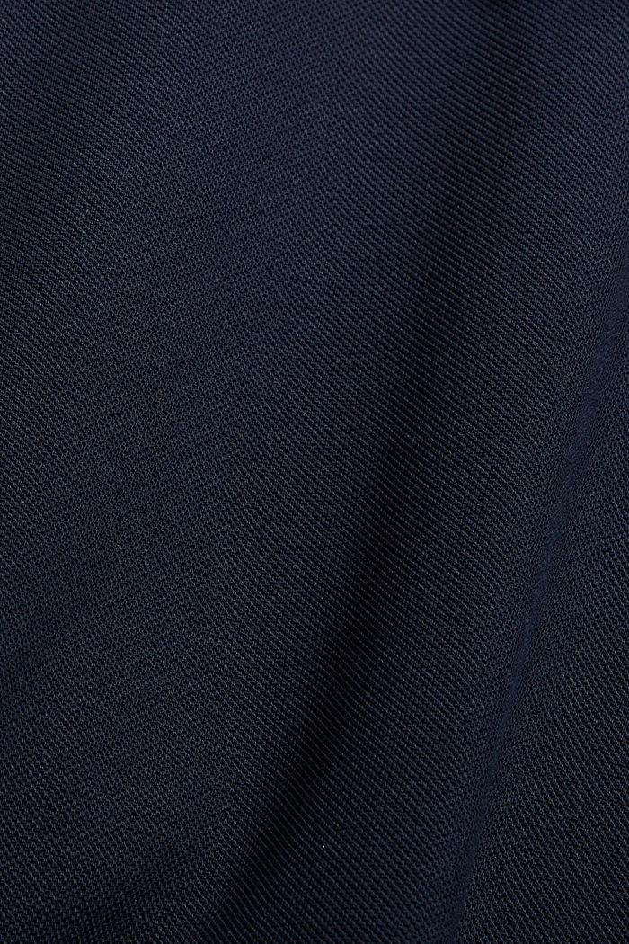 Polo en maille piquée, 100% coton bio, NAVY, detail image number 1