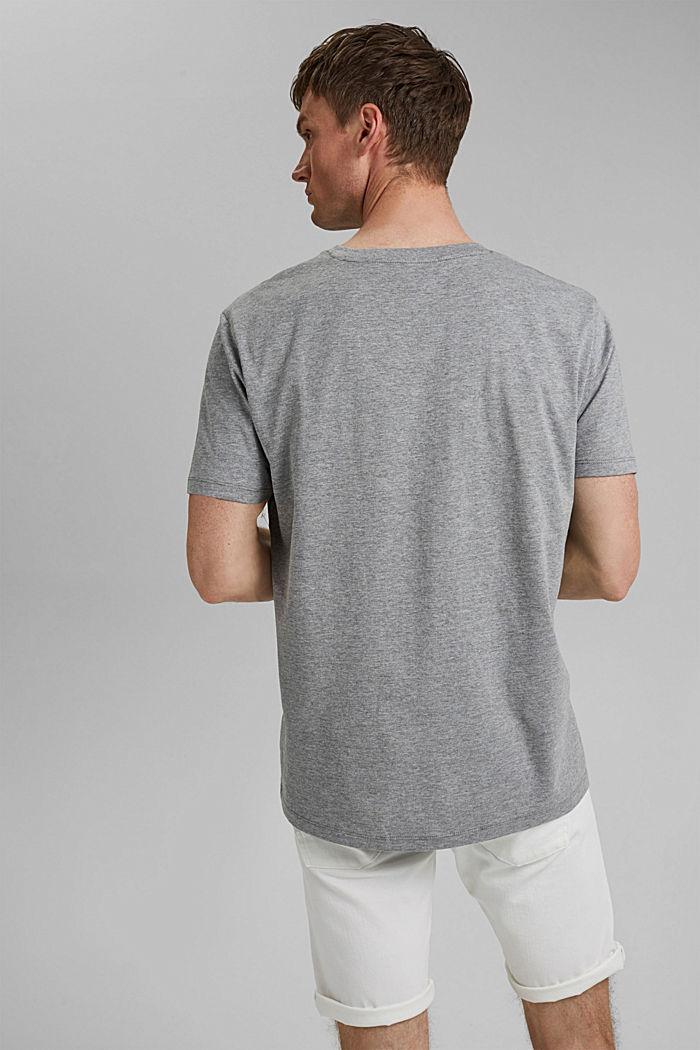 #ReimagineNaturalLifestyle: shirt met print, MEDIUM GREY, detail image number 3