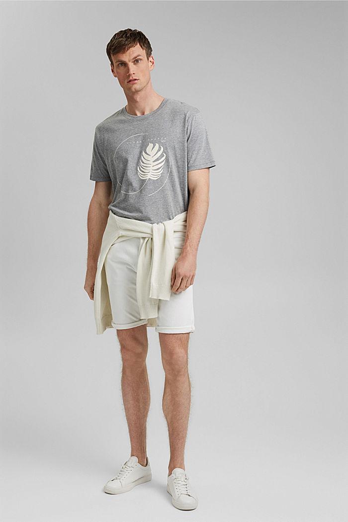 #ReimagineNaturalLifestyle: shirt met print, MEDIUM GREY, detail image number 2