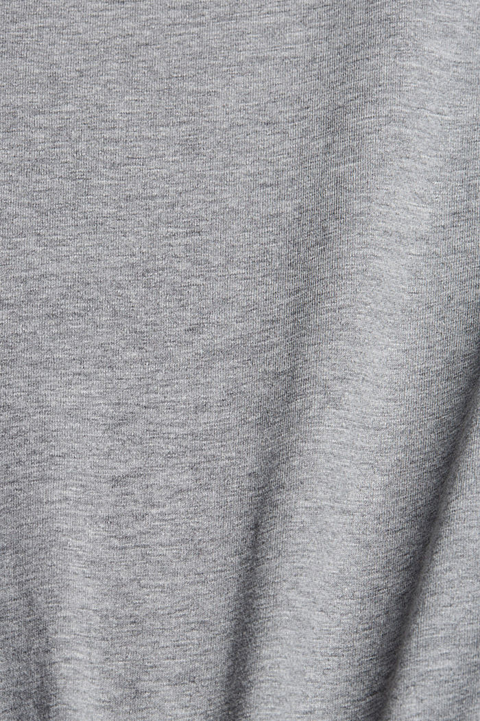 #ReimagineNaturalLifestyle: shirt met print, MEDIUM GREY, detail image number 4