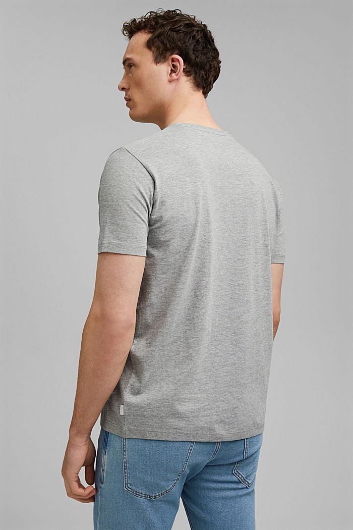 Print t-shirt with organic cotton, MEDIUM GREY, detail image number 3