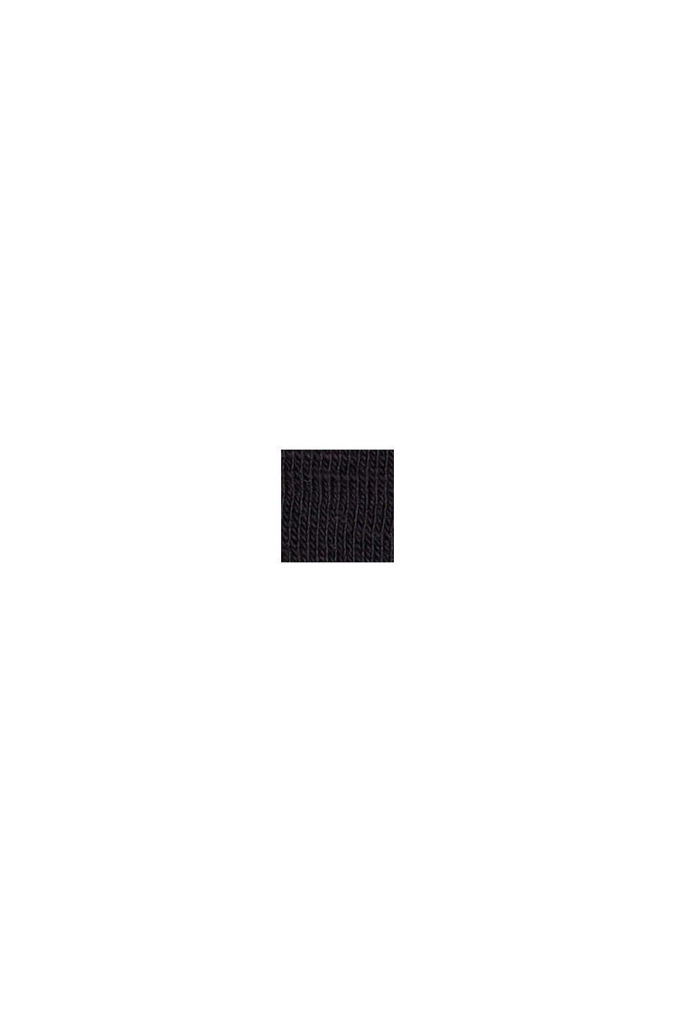 Jersey T-shirt made of 100% organic cotton, BLACK, swatch