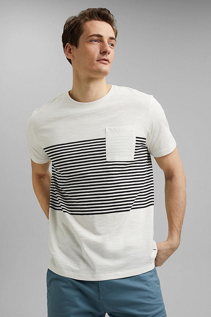 Jersey-T-Shirt aus 100% Organic Cotton