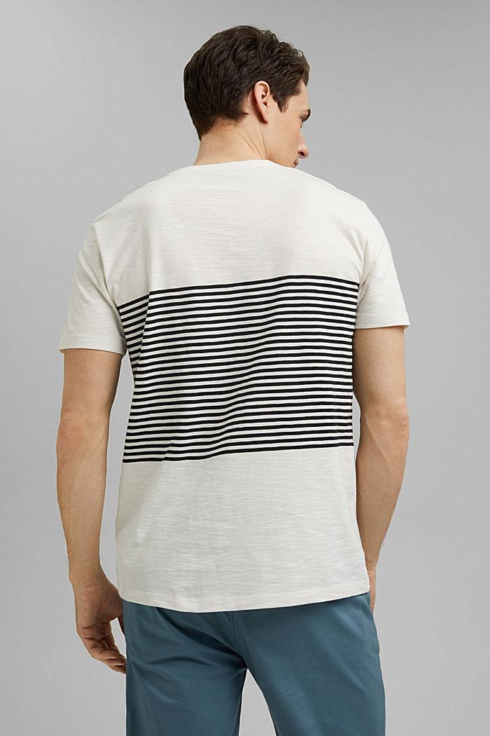 Camiseta de jersey en 100% algodón ecológico, WHITE, detail image number 3