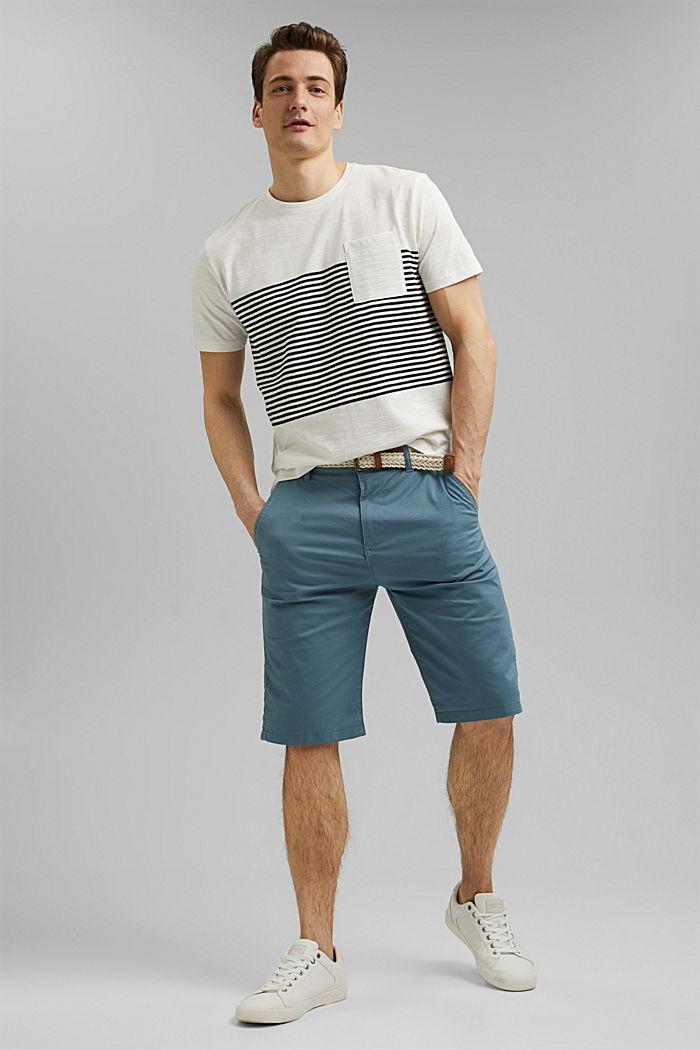 Camiseta de jersey en 100% algodón ecológico, WHITE, detail image number 2
