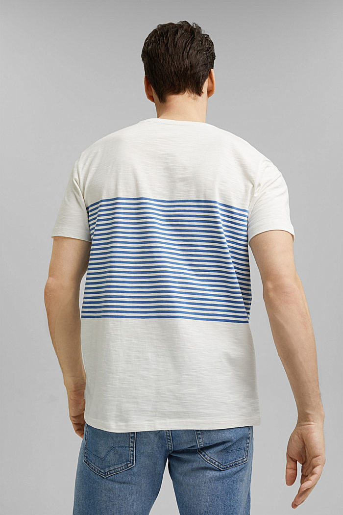 Jersey T-shirt made of 100% organic cotton, NEW OFF WHITE, detail image number 3