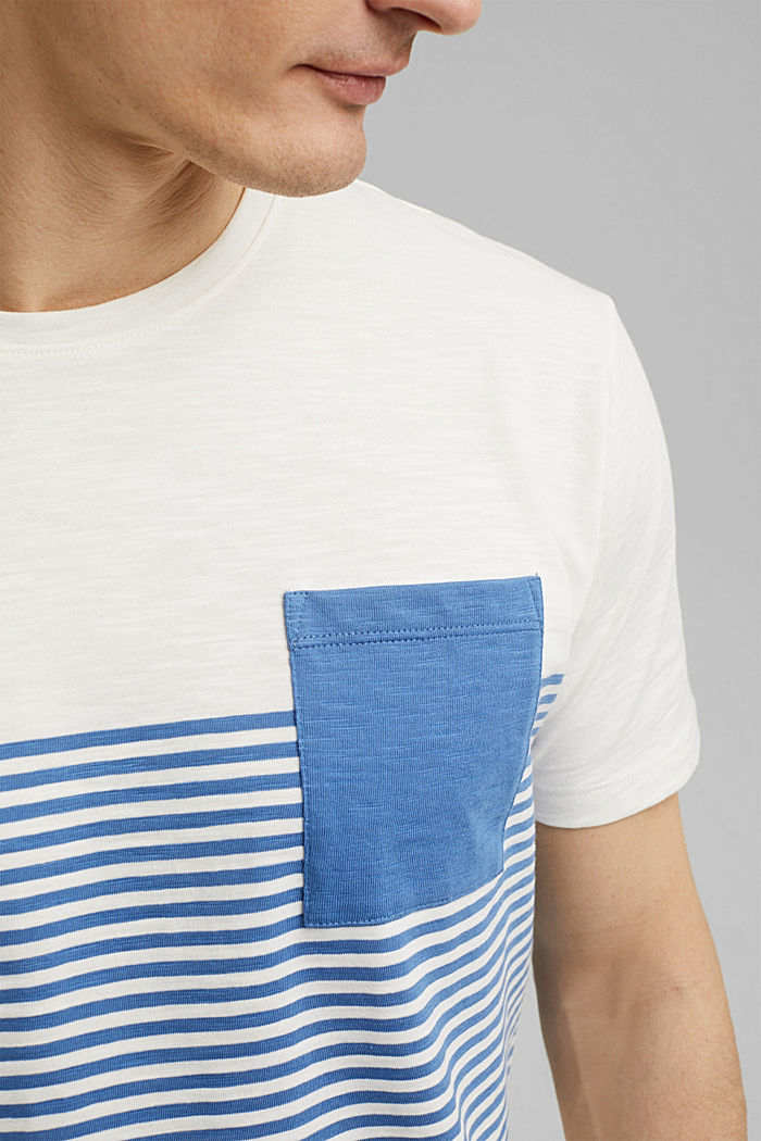 Jersey T-shirt made of 100% organic cotton, NEW OFF WHITE, detail image number 1