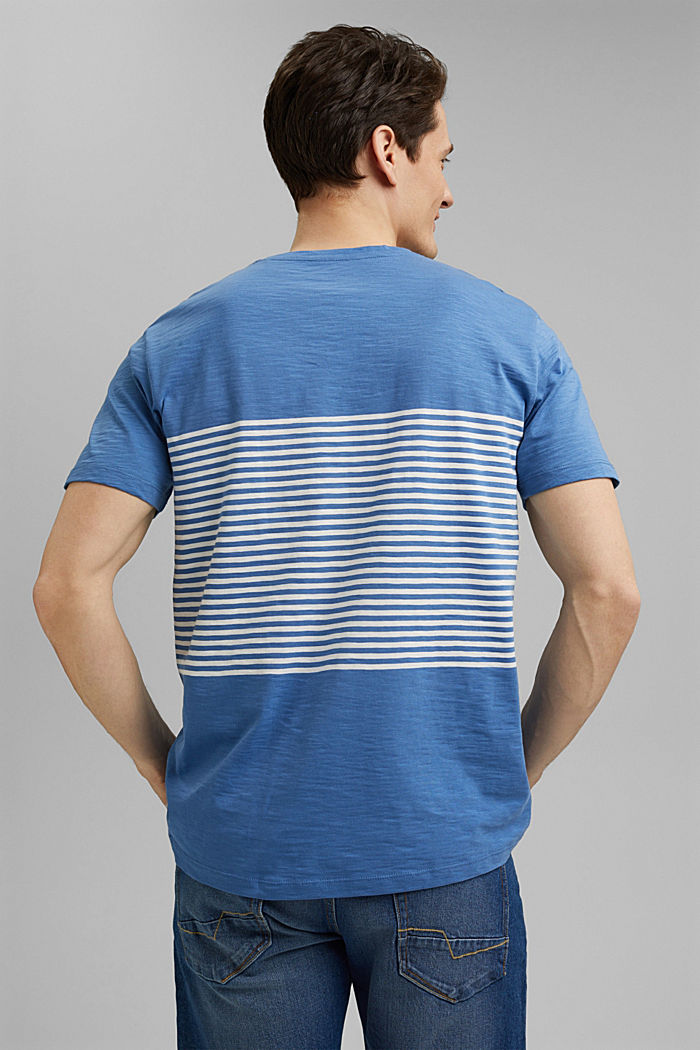 Jersey T-shirt made of 100% organic cotton, BLUE, detail image number 3