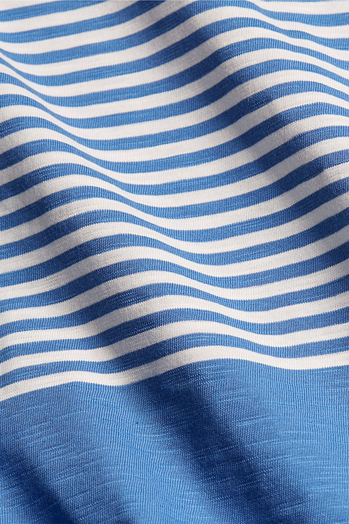 Jersey T-shirt made of 100% organic cotton, BLUE, detail image number 4