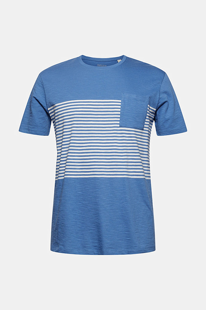 Jersey T-shirt made of 100% organic cotton, BLUE, detail image number 5