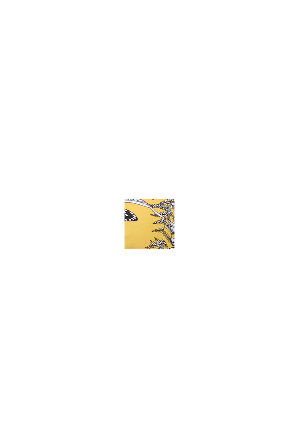 Recycled: underwire bikini top with a print, YELLOW, swatch