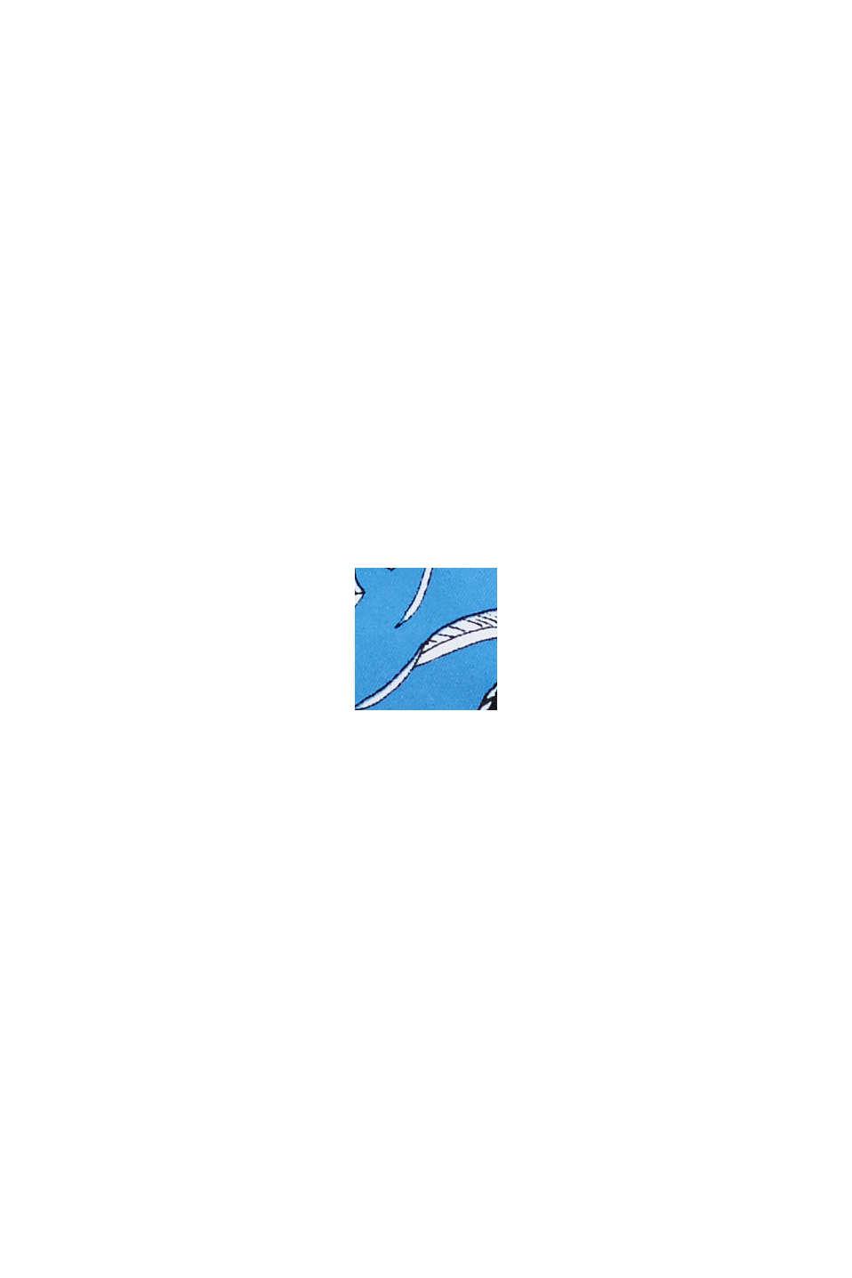 Återvunnet material: ovadderad halternecköverdel, BLUE, swatch