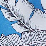 Reciclado: bañador con estampado tropical, BLUE, swatch