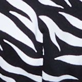 Recycled: underwire bikini top with a zebra print, BLACK, swatch